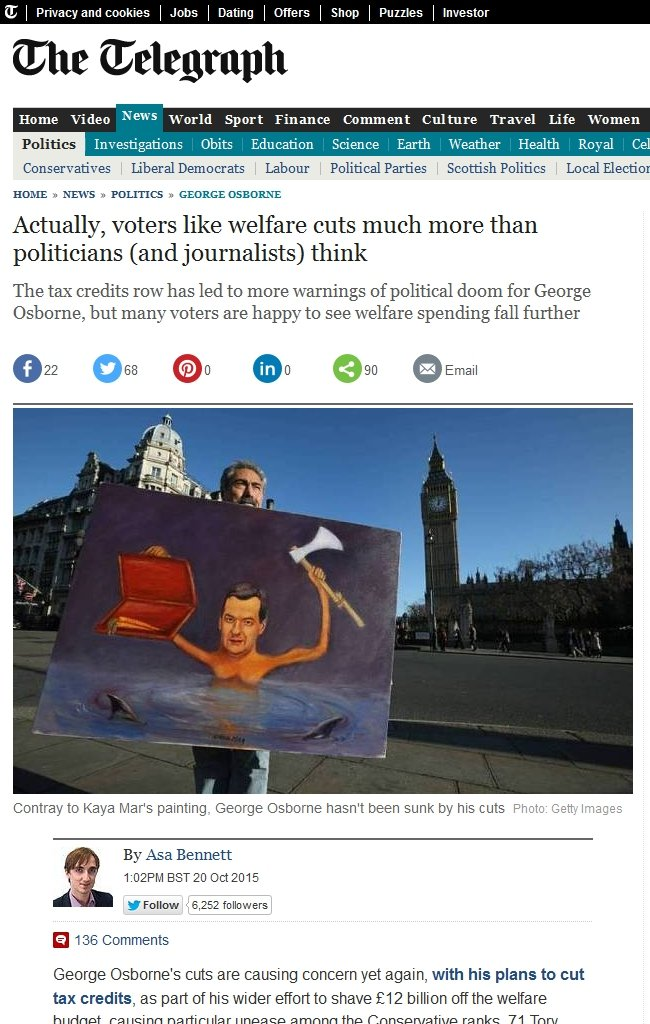 OSBORNE 20.10.2015 www_telegraph_co_uk_news_politics_georgeosborne_11942192_Actually-voters-like-welfare-cuts-much-more-than-politicians-and-journalists-think